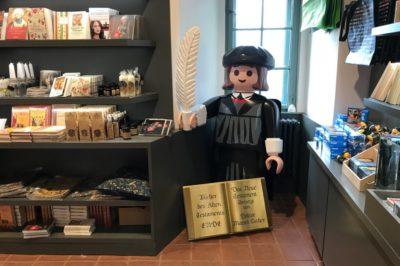 Auch Martin Luther wurde während des Wochenendes gesichtet - © Manuel Adams