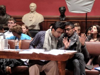 In Closing Opposition, BPP A ran an economics extension in the Final. photo credit: Justin Kirk
