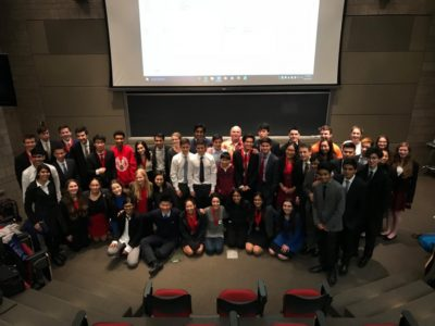 The participants at the Alfred Tuna Snider WSD Tournaments 2017 - © Cornell University Speech & Debate Society
