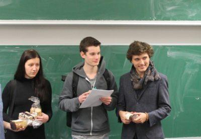Die Chefjury (v.l.n.r.): Marion Seiche, Marius Hobbhahn, Samuel Gall - © Die Rederei e.V.