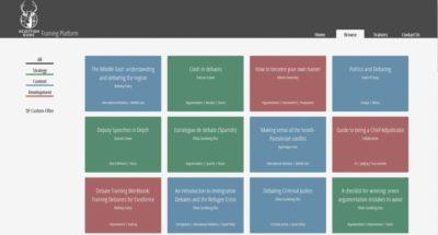 A list of ressources on the Scottish EUDC Training Platform - © Achte Minute