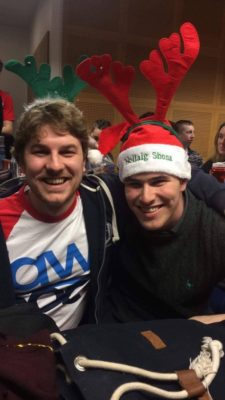 The Winners of the Cork IV 2017 bringing the christmas cheer - © Matt Hazell