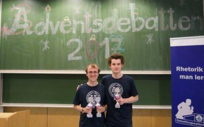 Oxford/Tübingen gewinnen die Adventsdebatten Jena