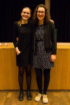 Elâ Marie Akay und Luzia Surberg aus Berlin, die Gewinnerinnen des Nikolausturniers 2017 – © Matthias Carcasona