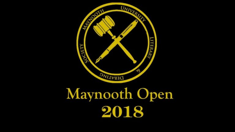 Maynooth Open 2018 (c) MU Literary & Debating Society