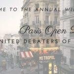 Paris Open 2018 (c) United Debaters of Paris