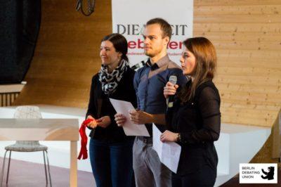 V.l.n.r. Marion Seiche, Stefan Torges, Sabrina Göpel