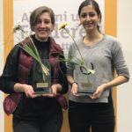 Pegah und Dessi die Gewinner des Alumnicup - © Tina Reimann