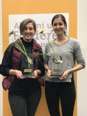 Pegah und Dessi die Gewinner des Alumnicup © Tina Reimann