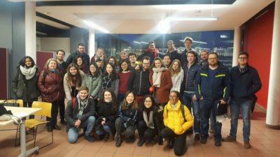 Happy debaters after a fabulous training weekend in Paris (c) Olivia Sundberg Diez