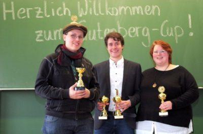 Münster/Halle gewinnt den Gutenberg-Cup