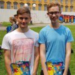 Die Gewinner des Reedhovencups 2018: René Geci und David S. – © Konstantin Krüger