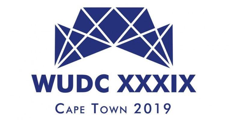 WUDC Cape Town 2019 Logo