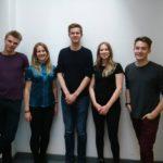 Yannick Lilie, Ilze Zilmane, Tim Schmidtlein, Vivien Hard und Kim Niemann - © BDU