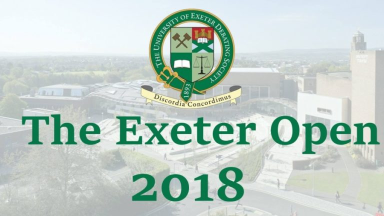 Exeter Open 2018
