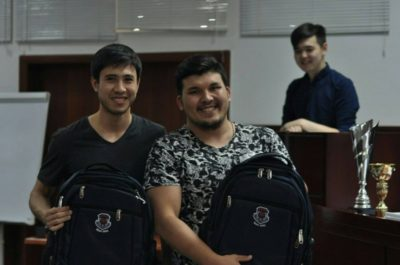 Chyngyz Ibrahimov and Kanat Nogoibayev from Kyrgyzstan - © private