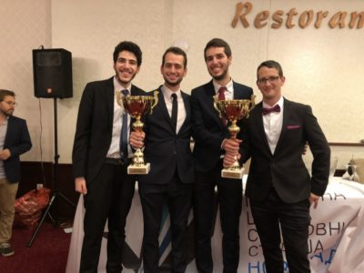 The champions 2018: Tom Manor, Yair Har-Oz, Ido Kotler and Amichay Even Chen (left to right) - © Nadav Barak