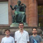 V.l.n.r.: Tobias Stocker, Karsten Seng und Jannis Limperg - © DC Freiburg