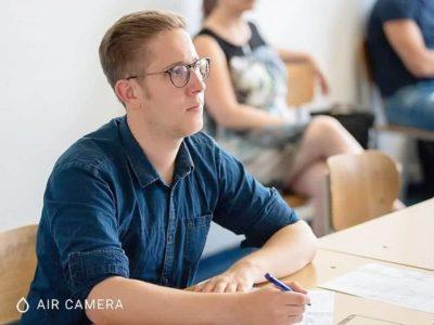 Konstantin Krüger als Juror bei den WSDC 2018 in Zagreb - © WSDC Zagreb
