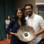 Tejal and Aditya are the top two speakers and champions of this year's HWS IV. (credit to Eric Barnes)