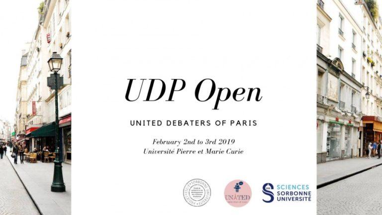 UDP Open 2019