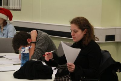 Tommy Peto and Gigi Gil - © UoB Debating