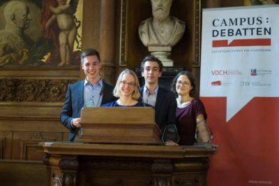 Streitkultur Tübingen gewinnt die DDM 2019
