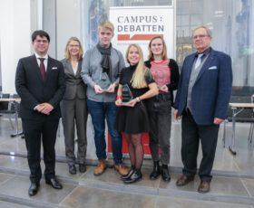 Münster/BDU gewinnt die Campus-Debatte Leipzig 2019