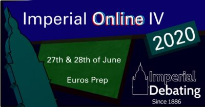 Dublin/London wins Imperial Online IV