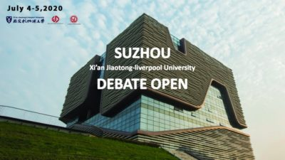Cambridge wins Suzhou Debate Open