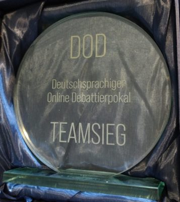 Potsdam gewinnt den DOD-Pokal