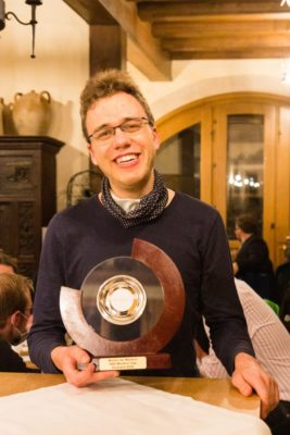 Sven Jentzsch gewinnt den Masters' Cup