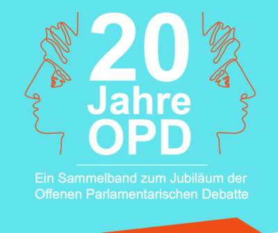 OPD-Jubiläumsband veröffentlicht